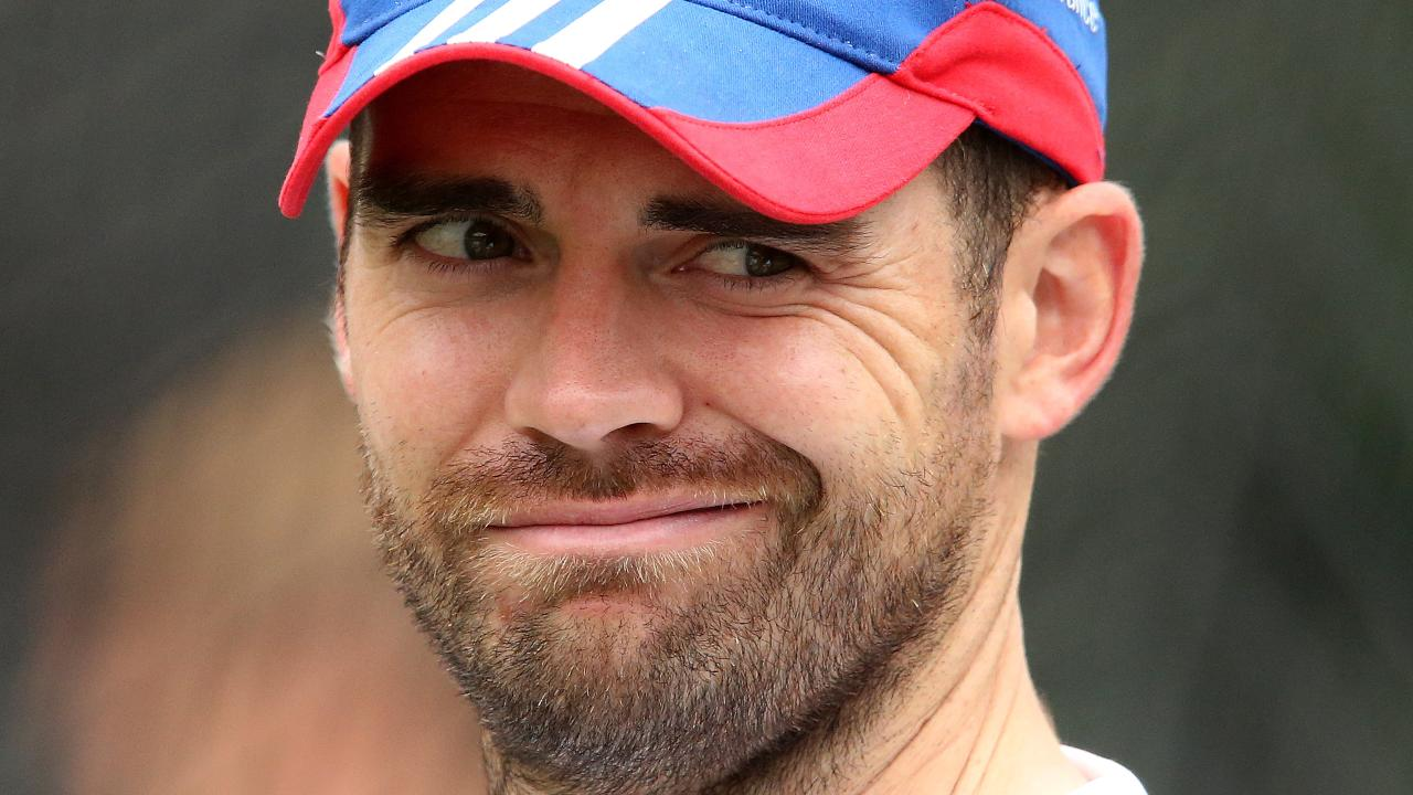 Like Graeme Swann, Jimmy Anderson let it all out in his new book. Picture: Wayne Ludbey