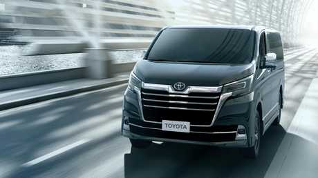 Toyota is going upmarket with its new Granvia people-mover.