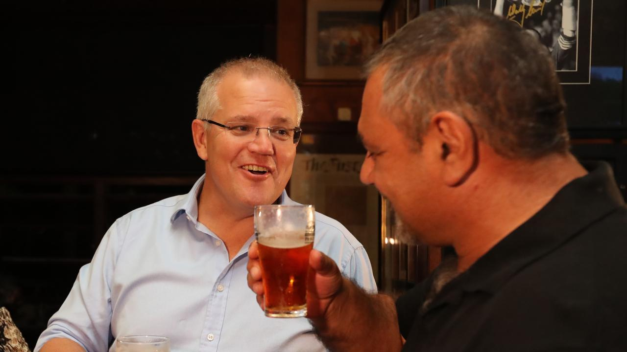 Quiet Australians, like those who supported Scott Morrison on Saturday will remain loyal. Picture: Alex Coppel
