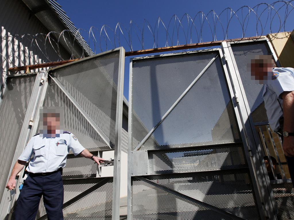 Entrance to Supermax within the walls of Goulburn prison complex.