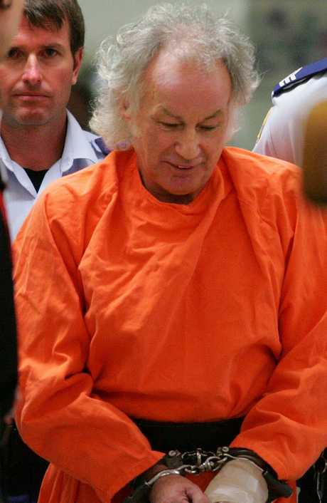Convicted backpacker murderer Ivan Milat in 2009 after leaving hospital with a severed finger.
