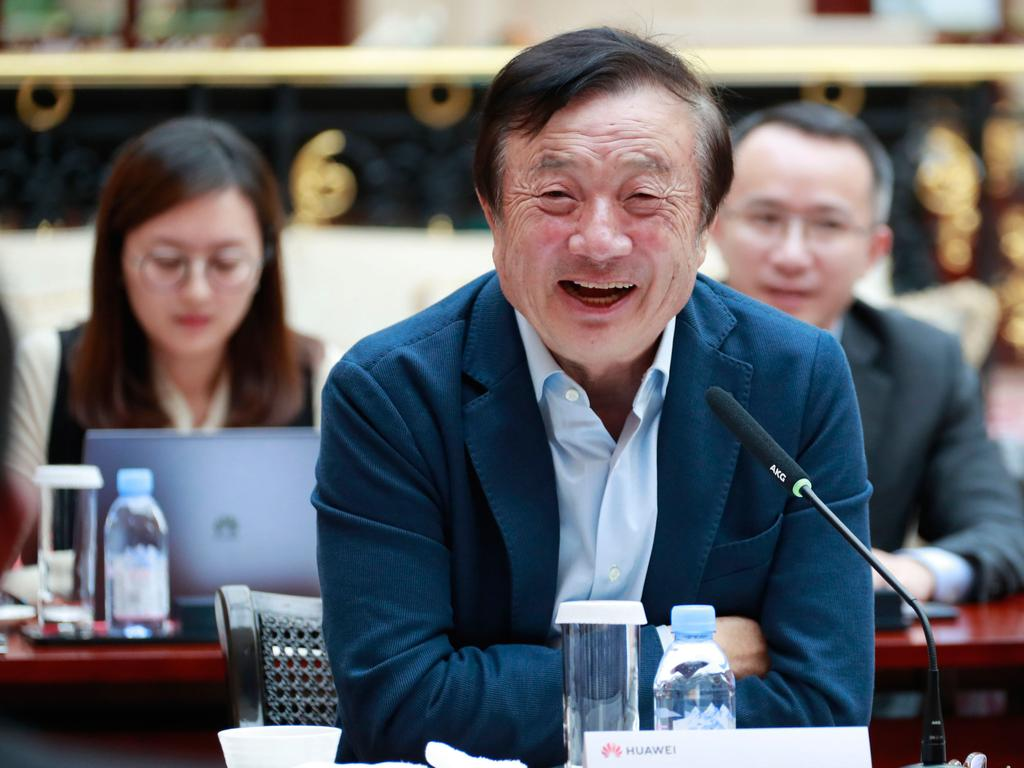 Billionaire Ren Zhengfei says his firm is fully prepared to face the trade restrictions. Picture: AFP