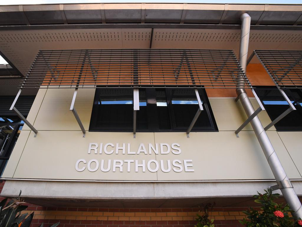 The accused appeared in Richlands Magistrates Court today. Picture: Dave Hunt/AAP