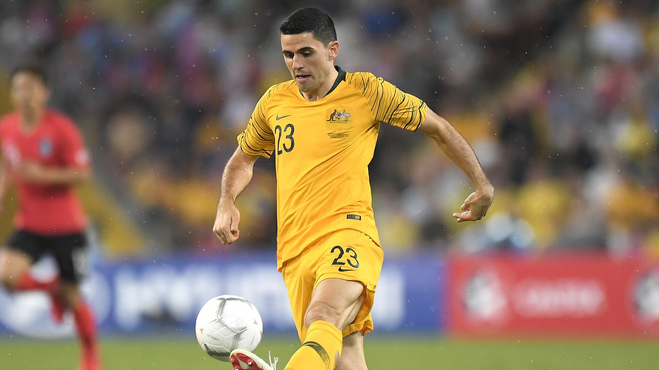 Socceroos playmaker Tom Rogic will be rested from the June friendly against South Korea. Picture: Getty Images
