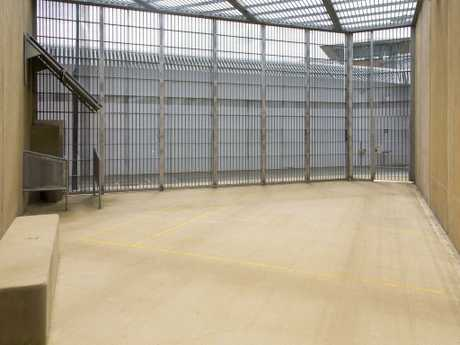 A day yard inside Supermax where Milat, accused terrorists and Australia's worst murderers enjoy a reasonable existence, according to the serial killer.
