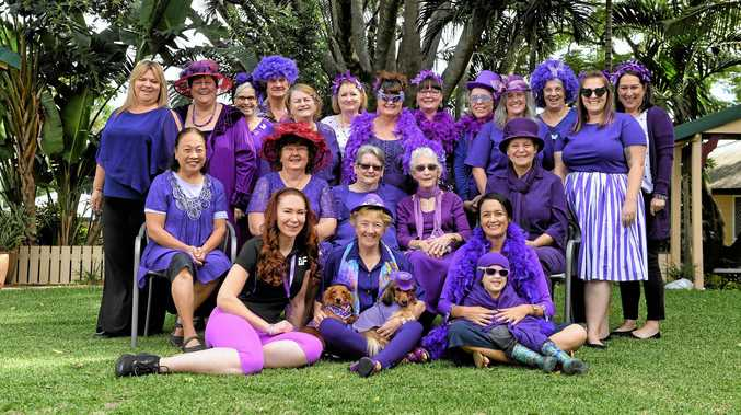 Why you should wear purple this Friday