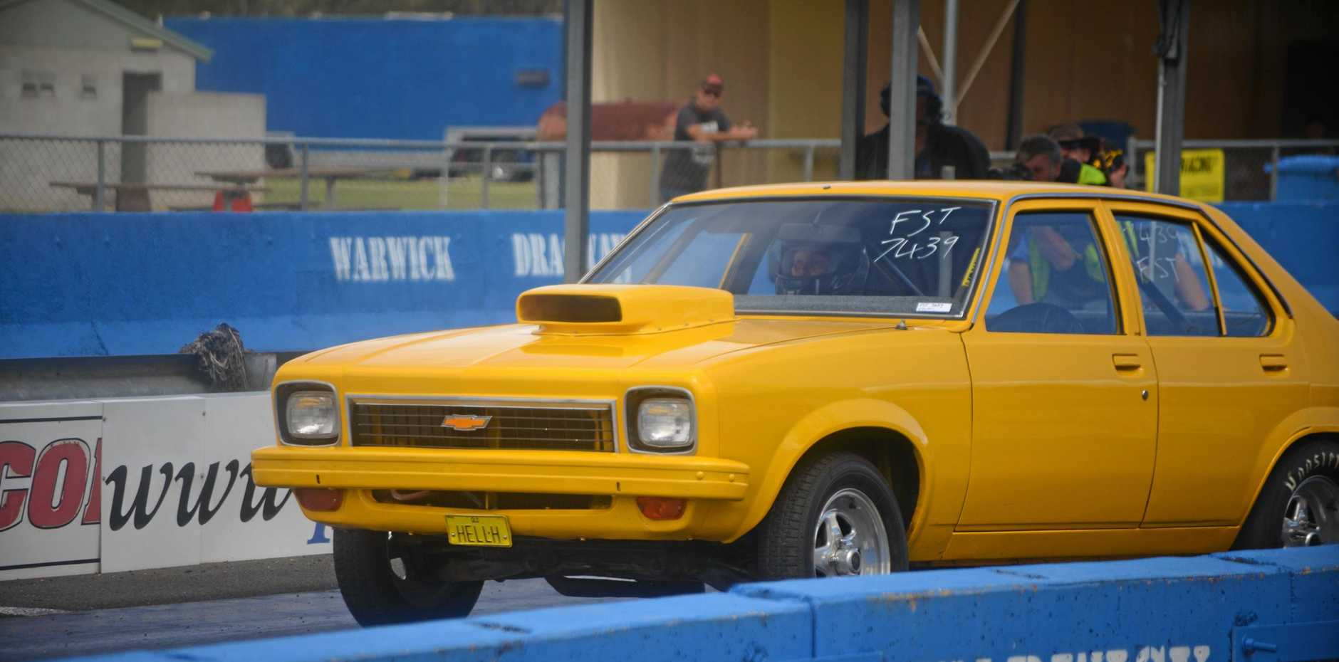 RACING: Stanthorpe driver Lana Rice in action on Warwick Dragway.