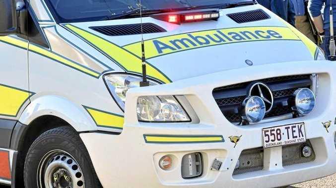 Two people hospitalised after Kalkie crash