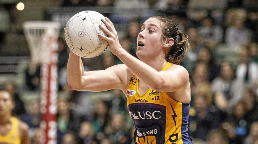 ON COURT: Jacqui Russell in a previous game.