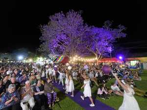 Jacaranda Festival launch sees shackles break free