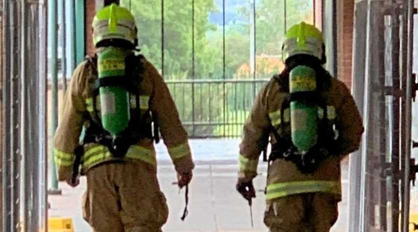 Fire and Rescue NSW Station 253 Casino attended a gas leak at Casino High School.