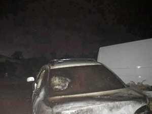 Kawungan car fire