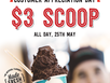 Visit Gelatissimo Rockhampton at Stockland Shopping Centre this weekend to enjoy $3 scoops of your favourite gelato as our way of saying THANK YOU!