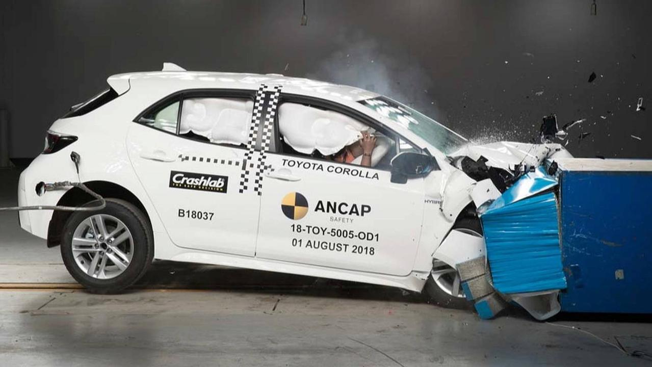 ANCAP crash ratings for the Toyota Corolla will be used in Europe.