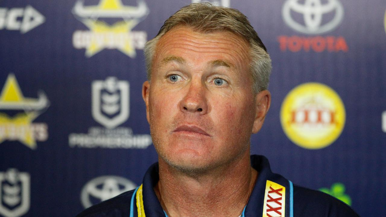 Garth Brennan's job at the Gold Coach is under immense pressure. Picture: Michael Chambers/AAP