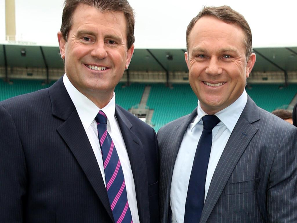 Mark Taylor and Michael Slater.