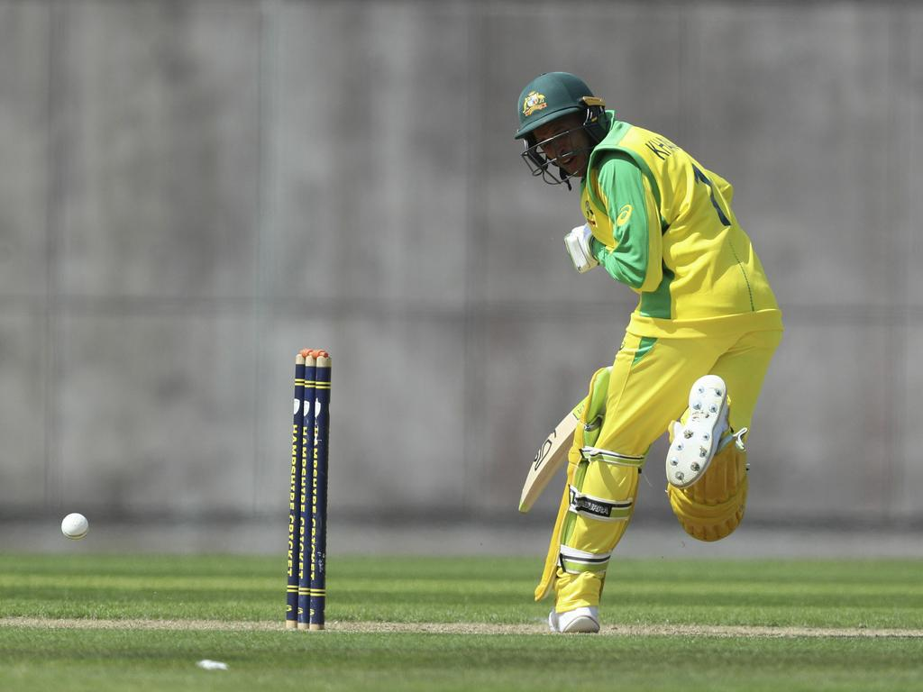 Khawaja's World Cup got off to a horror start.