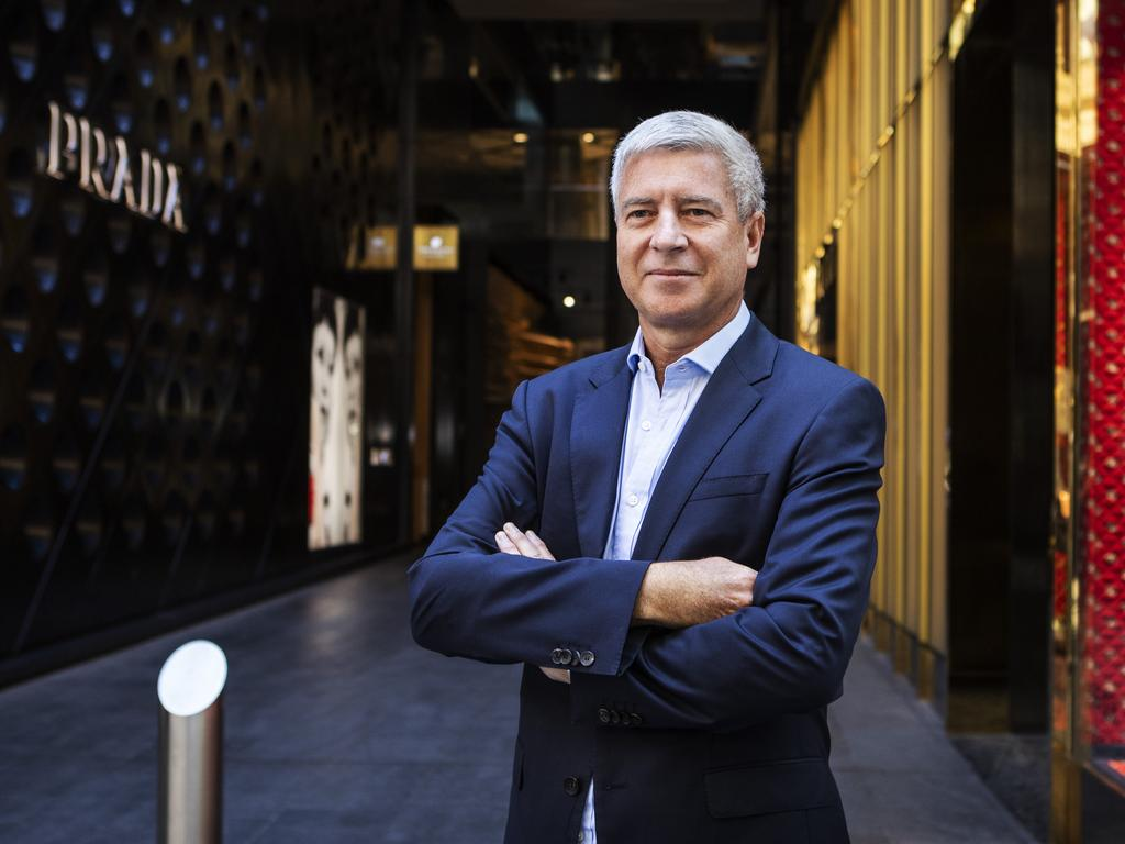Australian retail and property giant, Scentre Group CEO Peter Allen, says immigration is vital to Australia's economic growth and competitiveness. Photo: Hollie Adams