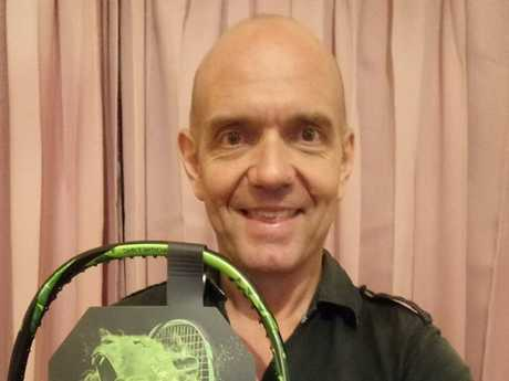 Australian man Greg Egli, 41, arrested in Bali on January 28 this year and accused of possessing 0.33 grams of methamphetamine. Picture: Facebook/ Supplied