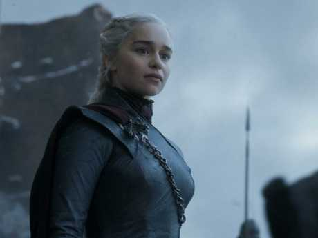 Things did not end well for Emilia Clarke and her daenerys. Picture: AP