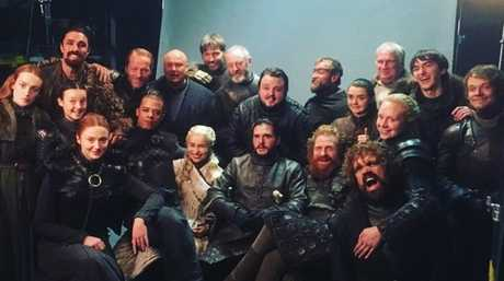 Emilia Clarke paid tribute to her Game of Thrones co-stars on Instagram. Picture: Instagram