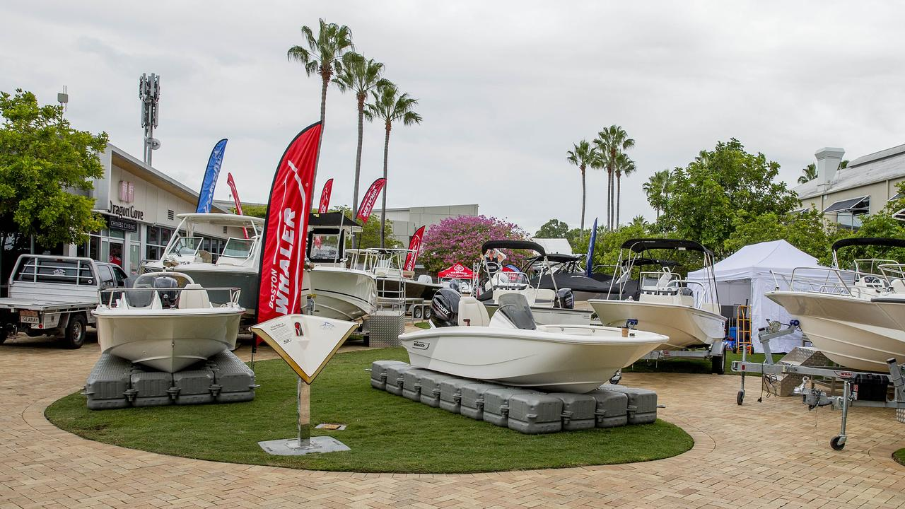 Sanctuary Cove Boat Show. Picture: Jerad Williams
