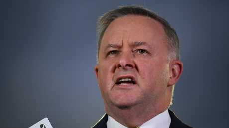 Anthony Albanese is the favourite to become the next Labor leader. Picture: AAP Image/Joel Carrett