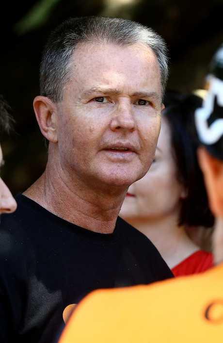 Union official Michael Ravbar has warned the Premier. Picture AAP/David Clark