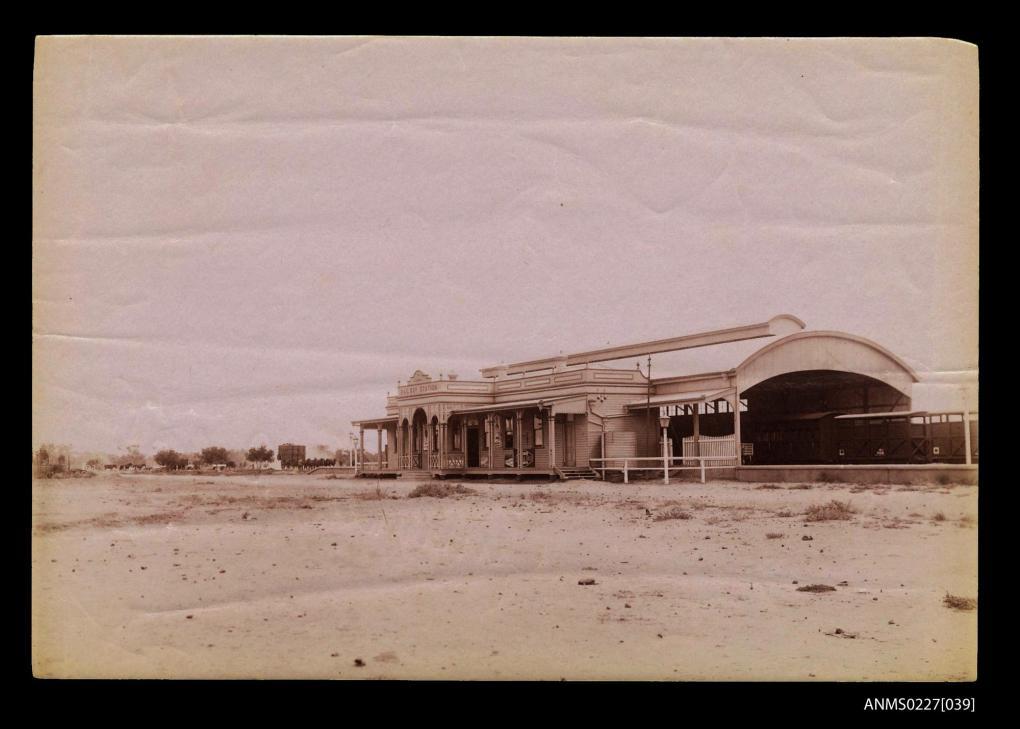 Historic photo of Cunnamulla railway station