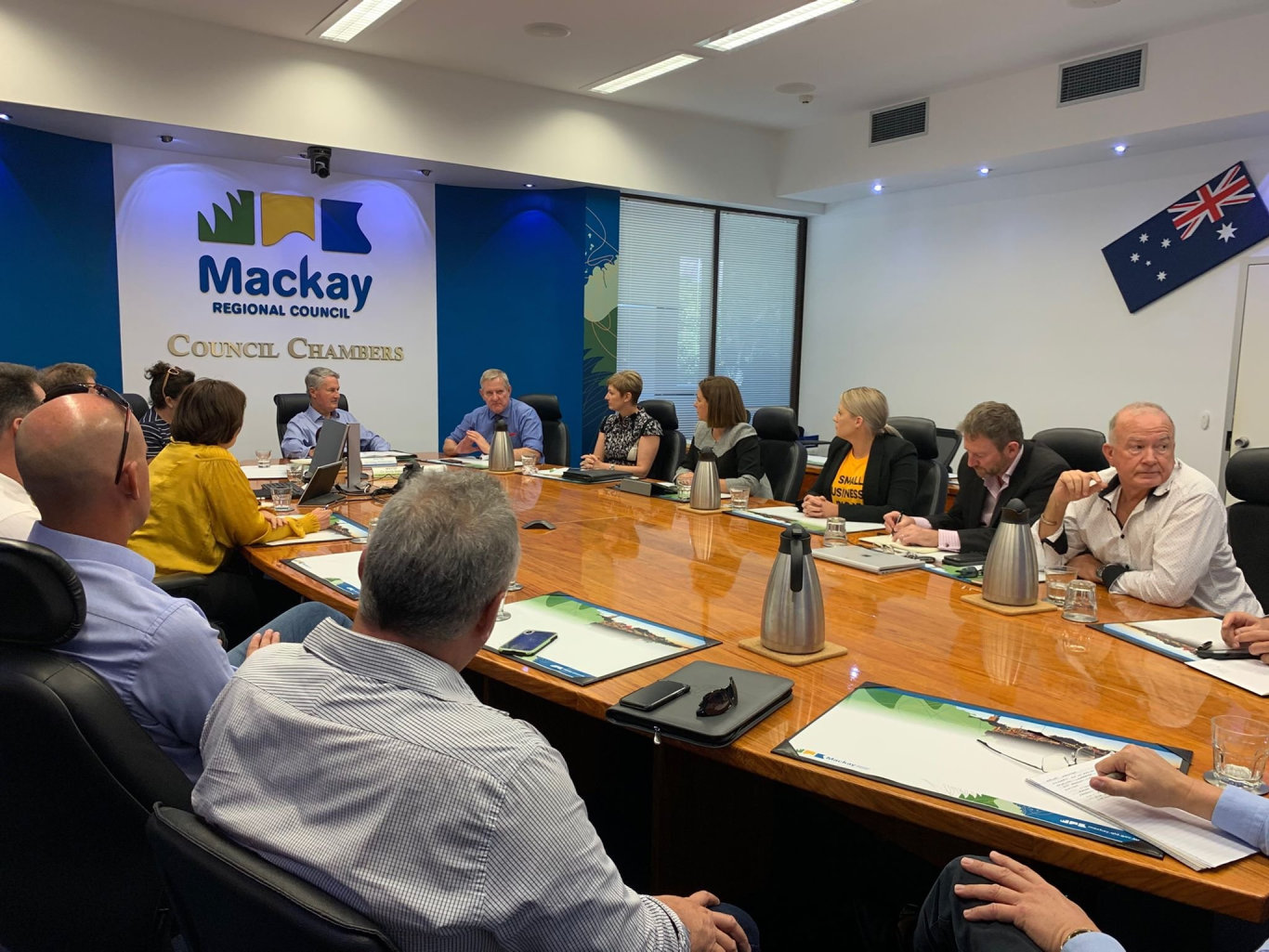 Fair go for our region roundtable held in Mackay.
