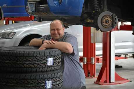 Michael Kibbell bought Bridgestone Tyre and Auto Service in Plainland.