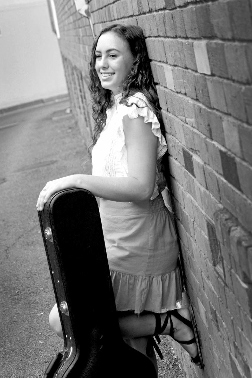 Blackwater singer Greer Webley.