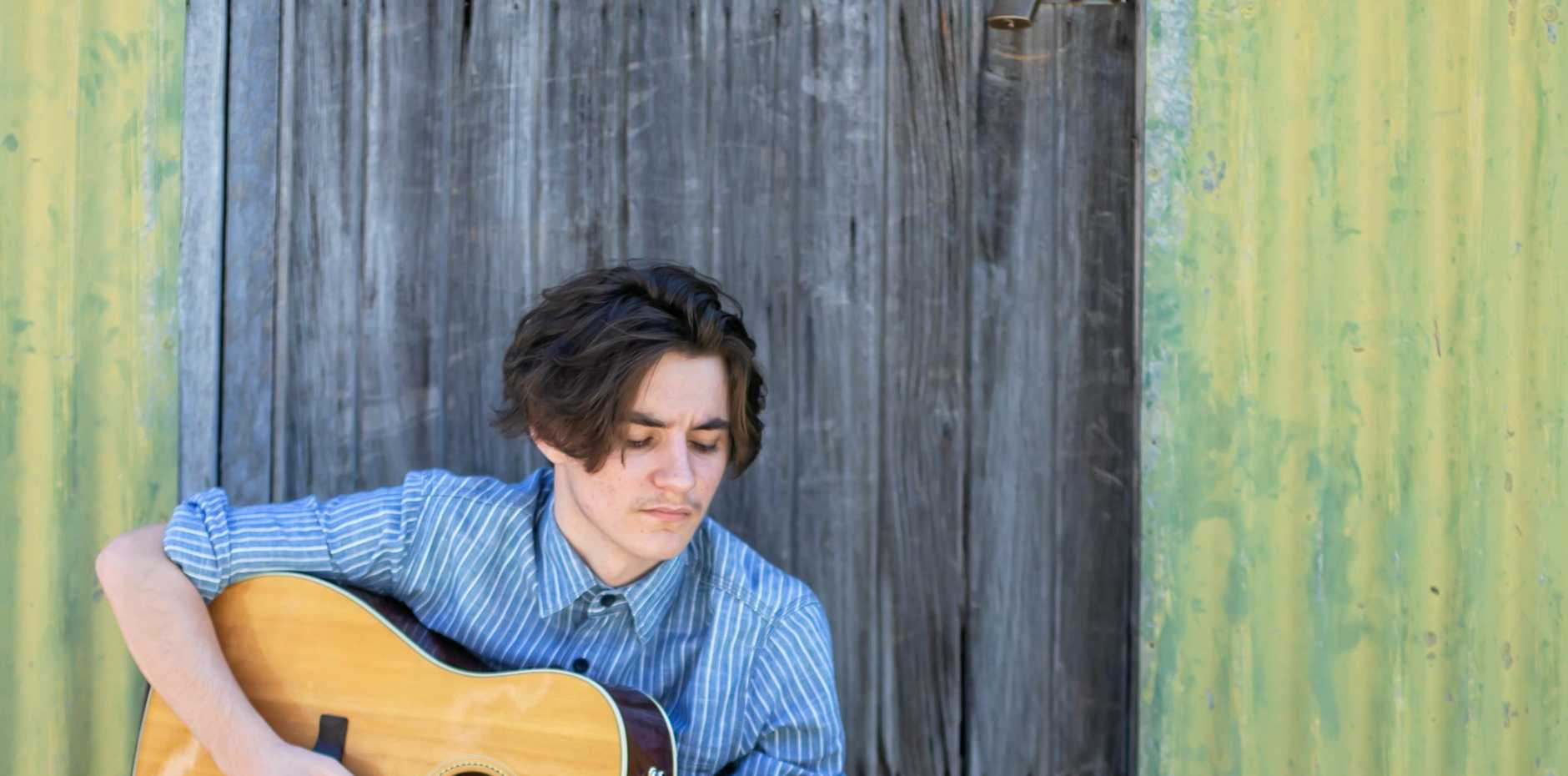 ON HIS WAY: Singer Mitch Rolfe has been accepted in the CMAA Academy of Country Music in Tamworth.