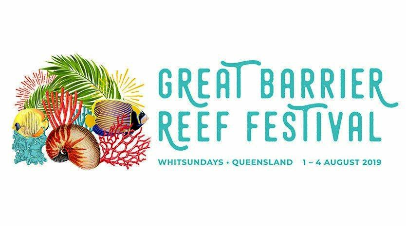 The new logo and rebrand of the Great Barrier Reef Festival.
