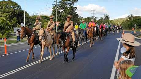 The Kilkivan Horse Ride will coincide with the opening of the new equestrian centre.