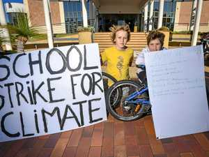 'Fighting for future': Students strike for climate change