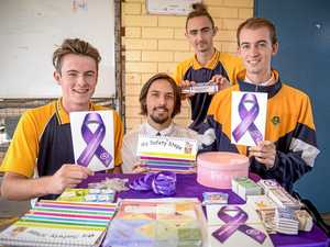 GALLERY: Students take part in Purple Day to raise awareness