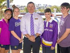 Gladstone State High School Purple Day