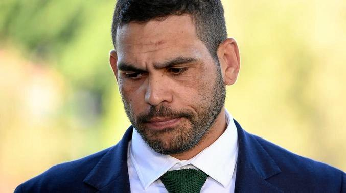 REHAB: Greg Inglis has been admitted to a rehabilitation clinic.