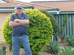 Man's temper boils over mould repairs