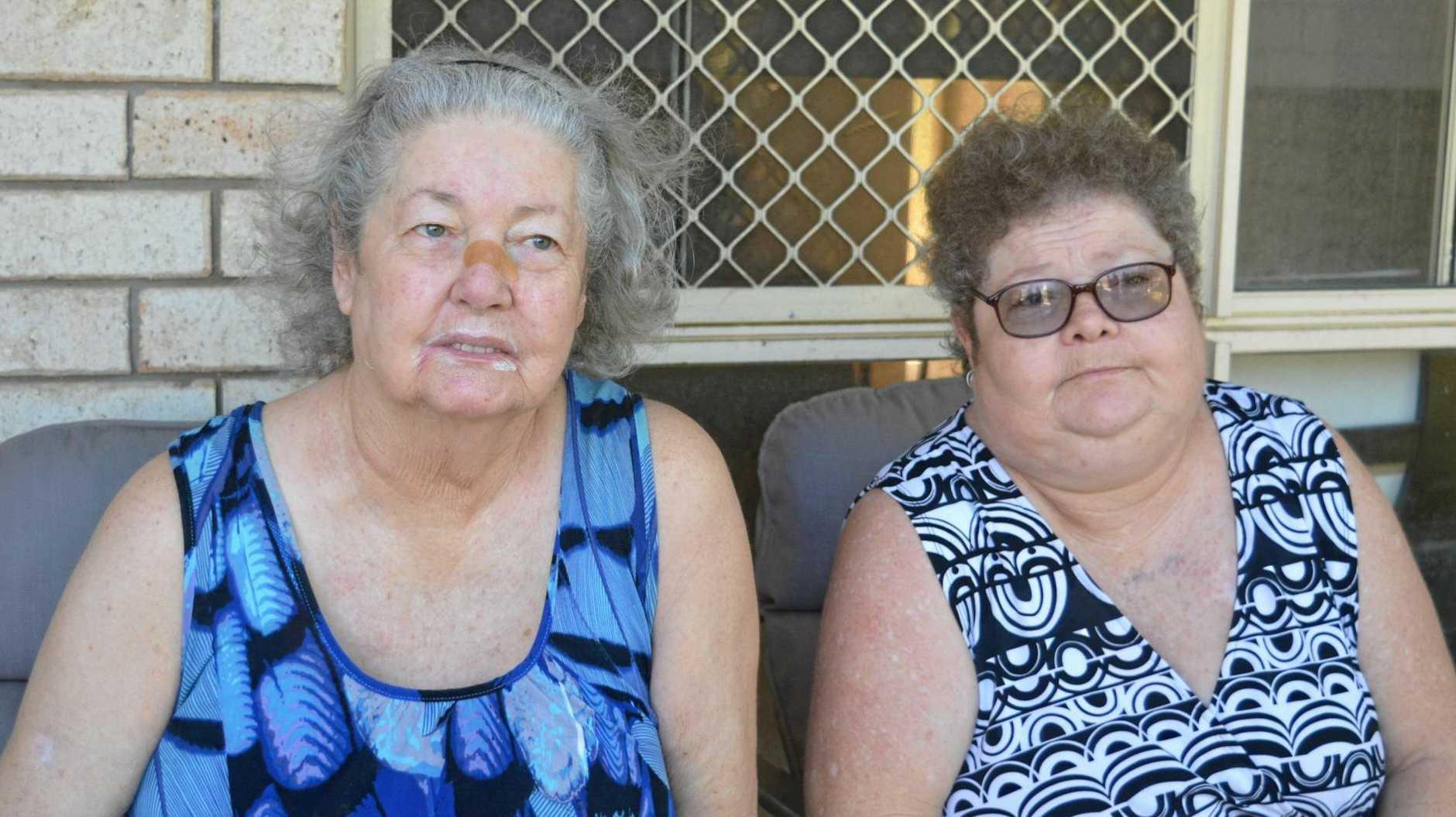 MAKING MEMORIES: Pamela Sweeney with her daughter Cheryl-Ann Rudd.