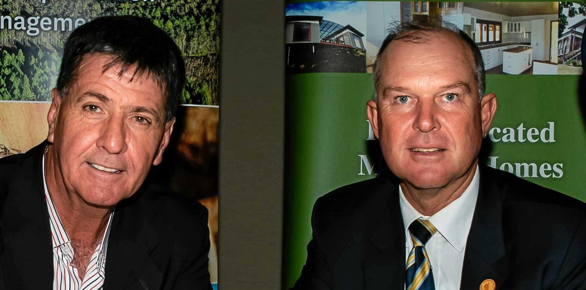 Images: Bruce Saunders MP, Member for Maryborough, Tony Perrett MP, Member for Gympie