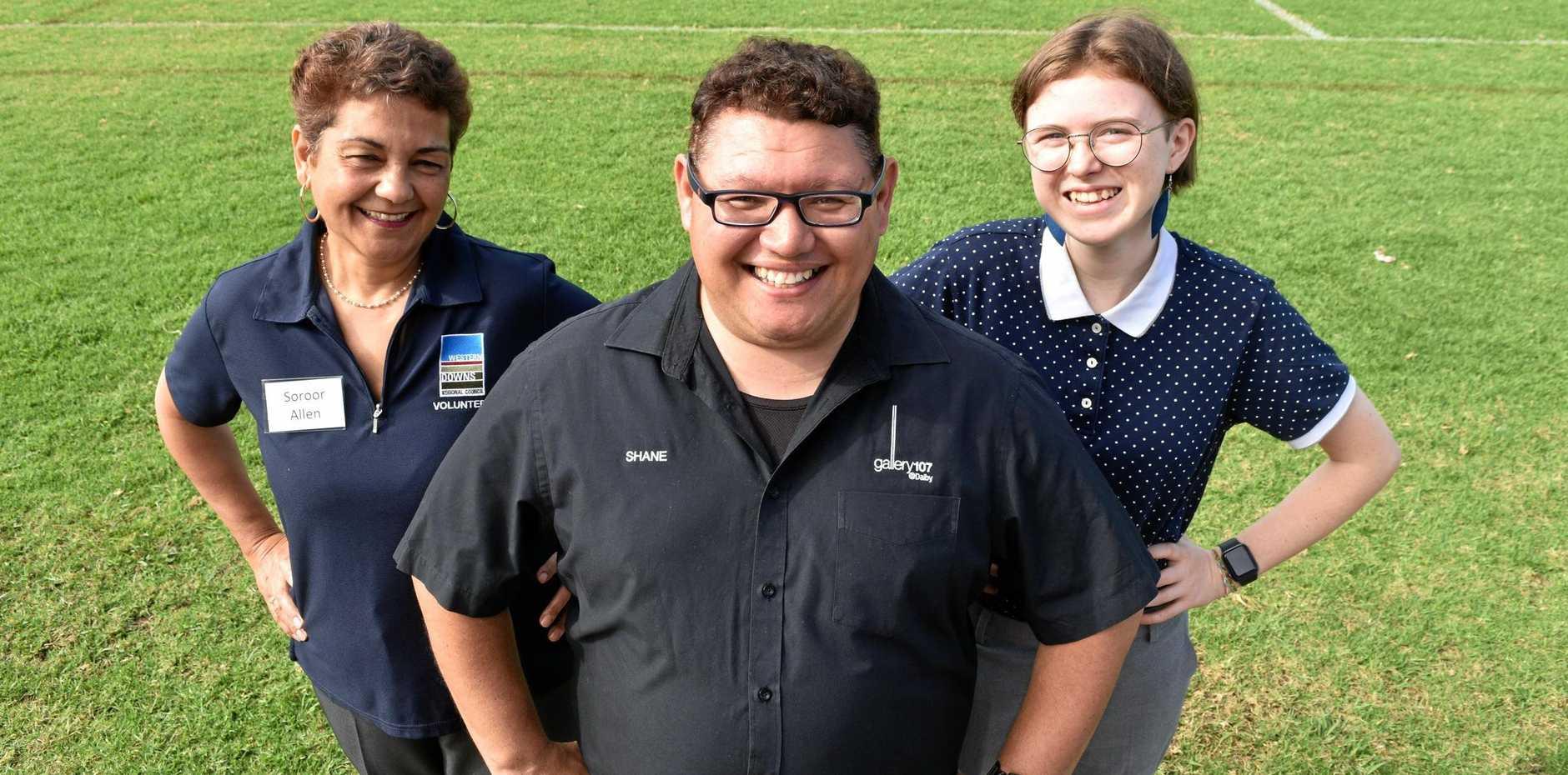 LOCAL HEROES: Volunteers spread community spirit in Western Downs.