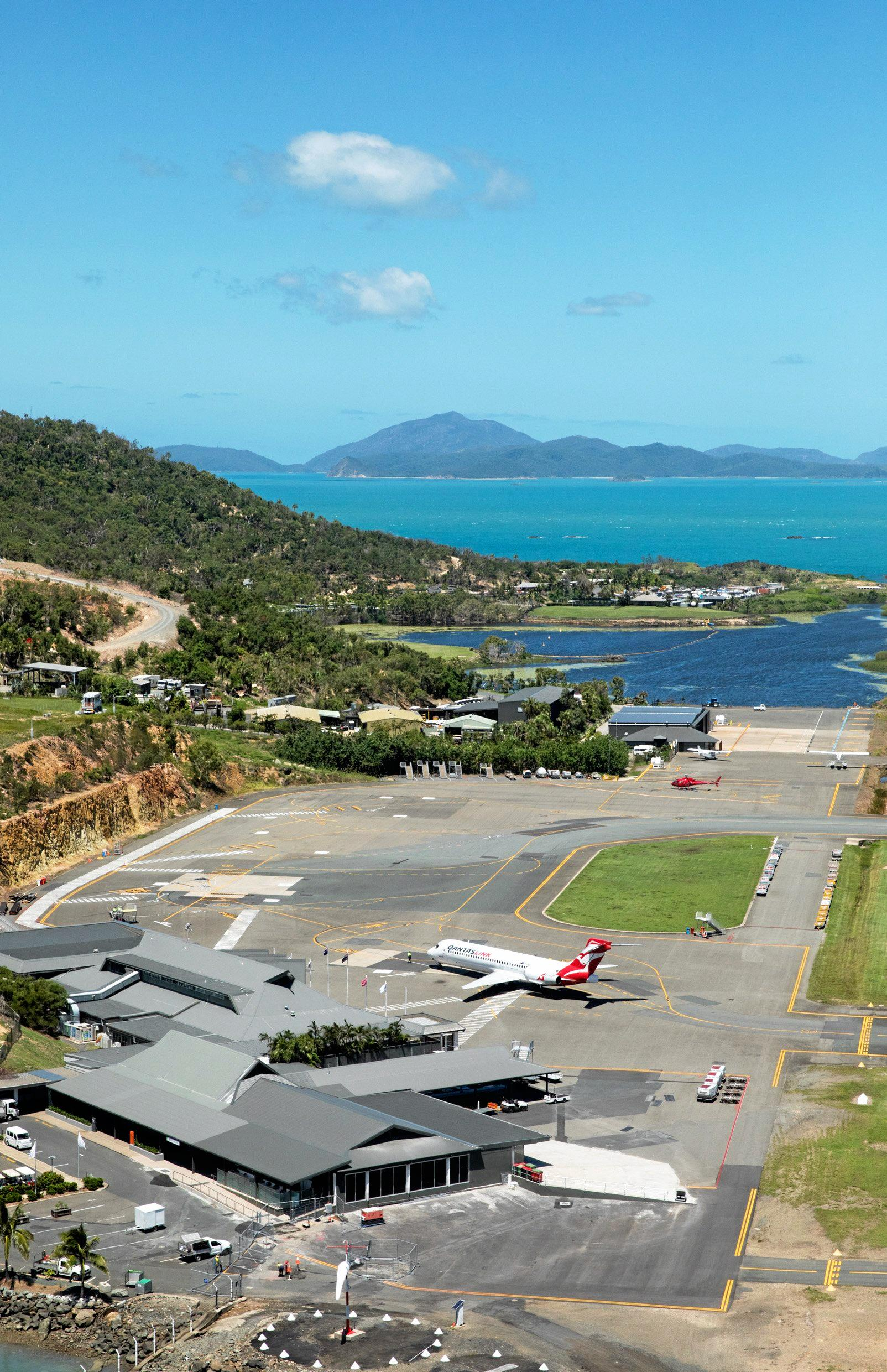 Qantas has added more seats to Hamilton Island Airport for travellers between July and September.