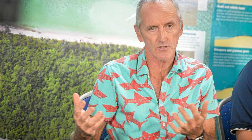 Lady Elliot Islands custodian Peter Gash attended a Q&A on Heron Island, and says falling in love with the Great barrier Reef is the best way to protect it.