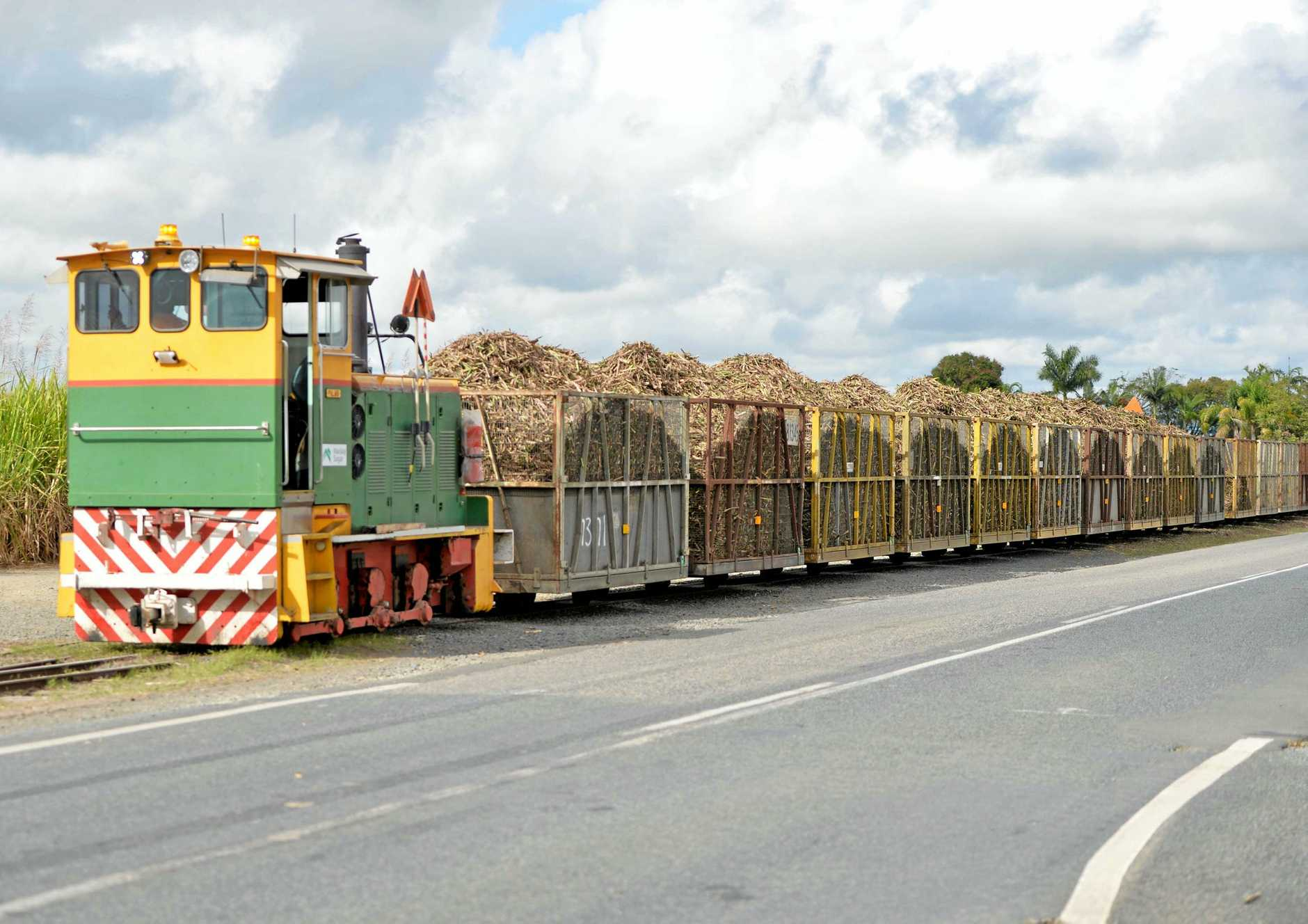 Residents are being urged to watch for cane trains and slow moving machinery during the crushing season.