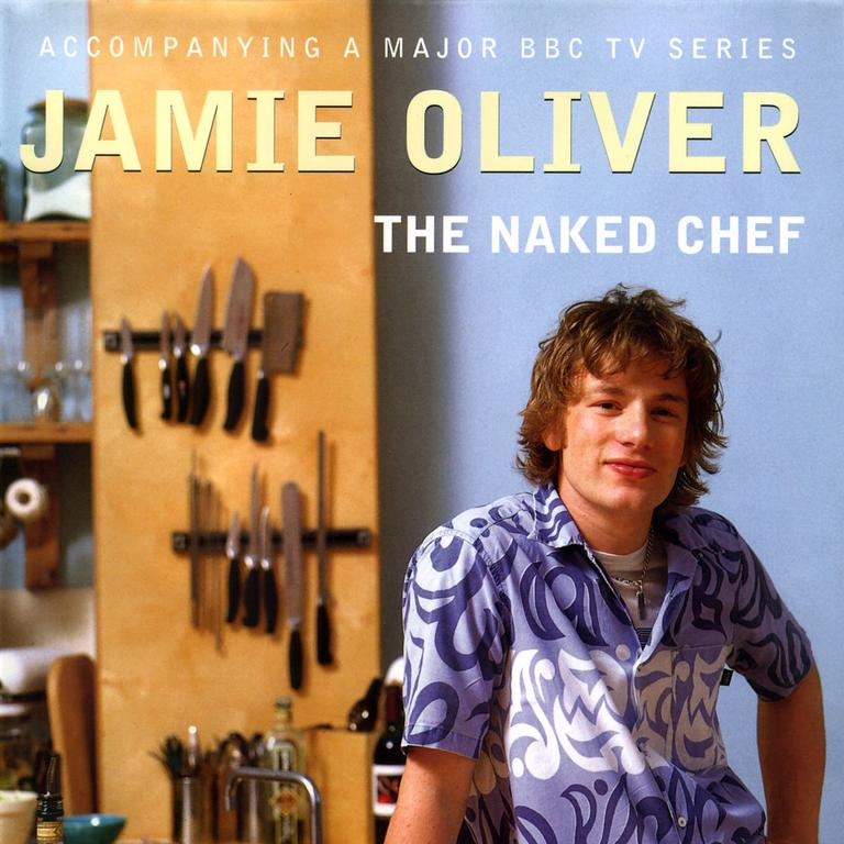 The Naked Chef by Jamie Oliver. Picture: Supplied
