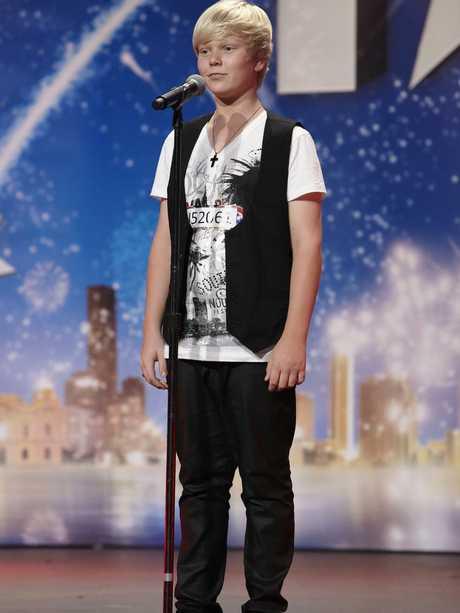 Australia's Got Talent contestant Jack Vidgen.