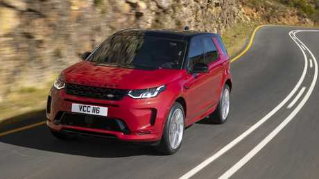 The new Land Rover Discovery Sport has a tiny three-cylinder engine.