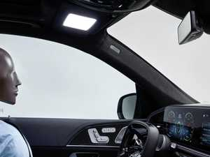 Mercedes turns sunvisors into sunlight to combat fatigue